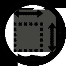 Icon-dimension